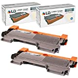 Compatible Brother TN450 Set of 2 High Yield Toner Cartridges