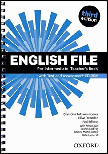 English file third edition pre intermediate teachers book with english file third edition pre intermediate teachers book with test and assessment cd rom amazon christina latham koenig clive oxenden fandeluxe Images