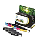 Catch Supplies 980XL 981XL 10 Pack Replacement High Yield Ink Cartridge Compatible with HP OfficeJet MFP M585dn M585f X555dn X555xh Printers |Black D8J10A, Cyan D8J07A, Magenta D8J08A, Yellow D8J09A|