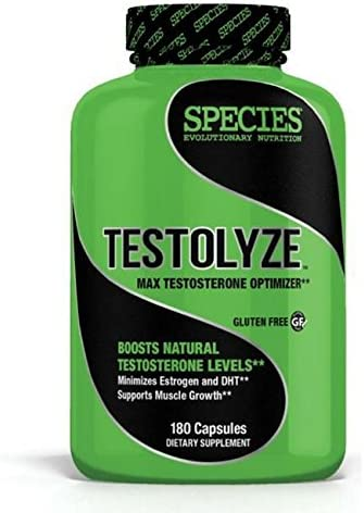 Species Nutrition Testolyze Tablets, 180 Count