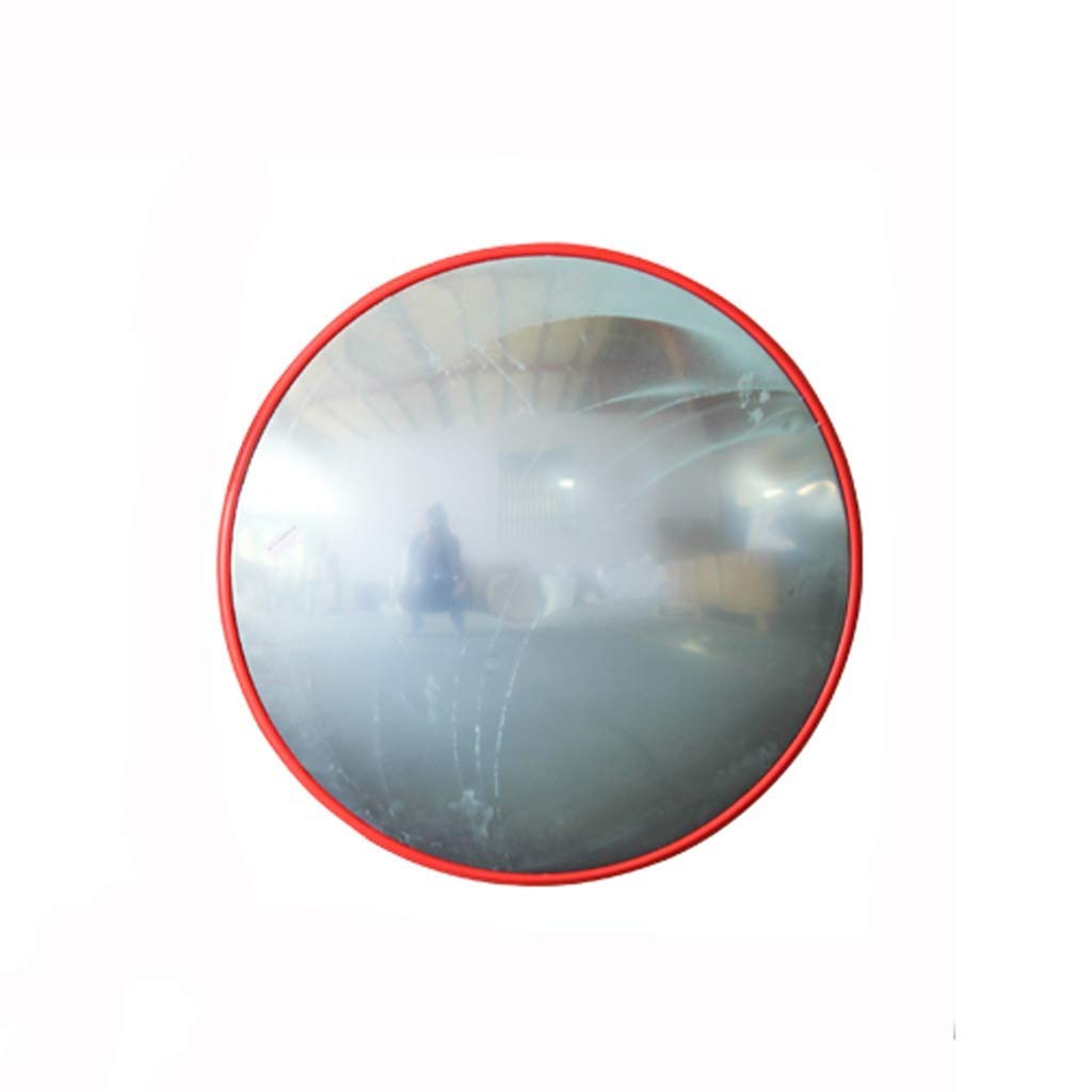 Geng カーブミラー PC材料安全凸面鏡ABSミラーバック屋内と屋外の交差点交通ミラー死角ミラー観察ミラー 80cm Indoor B07TC9BGQ5