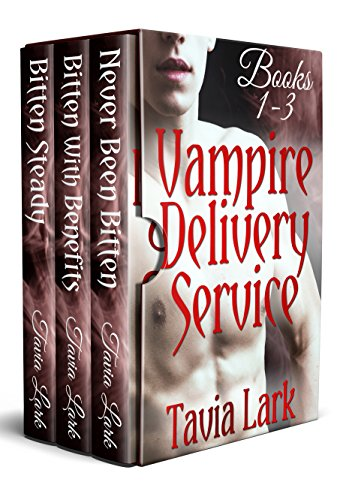 Vampire Delivery Service Books 1-3: M/M Vampire Romance (Delivery 1)