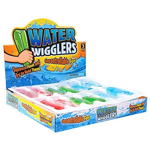 2'' MINI WATER WIGGLER WITH BEADS AND GLITTER, Case of 192 by DollarItemDirect (Image #2)
