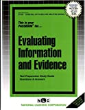 Evaluating Information and Evidence, Jack Rudman, 0837367662