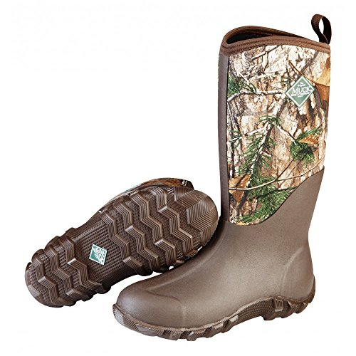 (Muck Boot Men's Feildblazer II Knee High Boot, Brown, Realtree Xtra, 8 D(M))