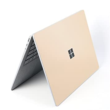 5e7833ae9b491 Microsoft Surface Laptop Body Decals Protective Skins Cover Sticker,3M  Decal Decorative Full Protector (Champagne gold)