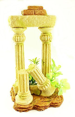 Twin Column Aquarium Ornament