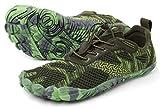 WHITIN Men's Cross-Trainer   Barefoot & Minimalist Shoe   Zero Drop   Wide Toe Box   Five Fingers   Gym Fitness Workout Trail Running   Male Green   Size 8