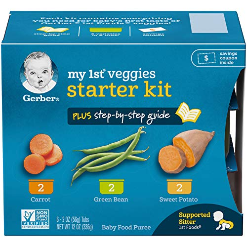 Gerber Purees My 1st Vegetables, Box of
