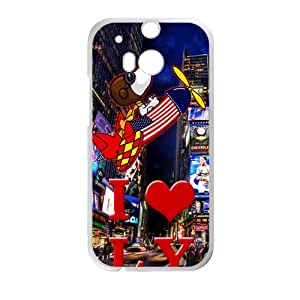 Luxury Hotels Times Square Cell Phone Case for HTC One M8