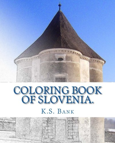 Coloring Book of Slovenia.