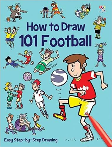 how to draw 101 football amazoncouk barry green 9781782445364 books
