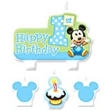 Amazoncom Edible Cake Topper Baby Mickey Mouse Babys 1st
