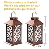 [Set of 2] TAKE ME Solar Lantern,Outdoor Garden