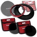 WonderPana 145 ND Kit - 145mm Filter Holder, Lens Cap, ND16 & ND32 Filters for Sigma 12-24mm f/4.5-5.6 EX DG IF HSM Lens
