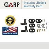 GARP GARP-4318165 Refrigerator Door Cam Kit, Whirlpool, Sears, AP3103517, PS358690, 4318165 by GARP