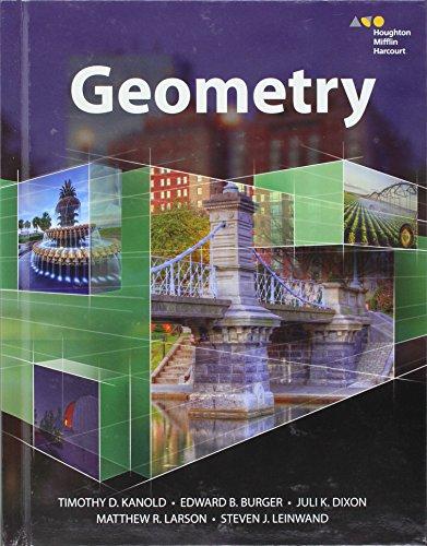 Hmh Geometry: Student Edition 2015