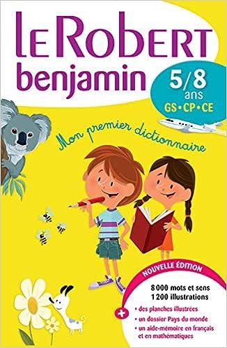 Amazon.com: Le Robert Benjamin : 5/8 ans (French Edition ...