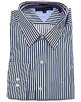 Tommy Hilfiger Mens Regular Fit Striped Dress Shirt