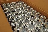 TEMCo 25 LOT Motor Run Capacitor RC0093-40 mfd uf 370/440 V VAC volt 40 uf Round HVAC TEMCo AC Electric