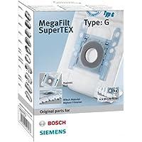 Bosch MegaFilt SuperTex Type G - Bolsas de recambio para aspiradoras - 4 unidades