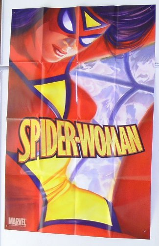 Sexy 36 x 24 Alex Ross Spider-Woman Marvel Comics Shop Promo Poster Alex Ross Spider