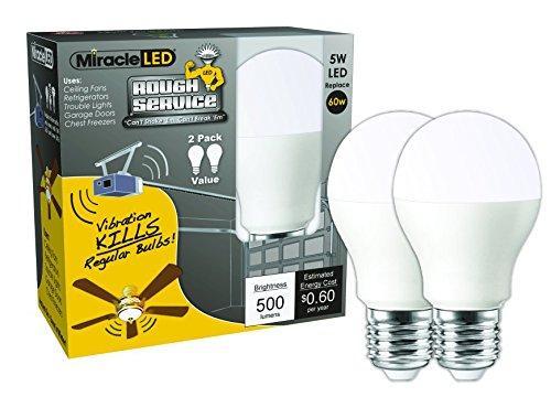 Garage Door Light: Amazon.com:MiracleLED 604716 Rough Service Garage Door Light (2 Pack),Lighting
