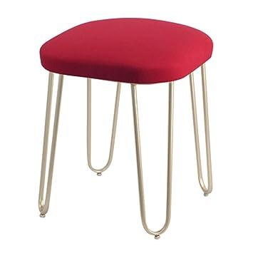 Amazon.de: Hxibog Moderne Einfachheit Dressing Tisch Hocker ...