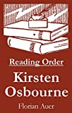 #5: Kirsten Osbourne - Reading Order Book - Complete Series Companion Checklist