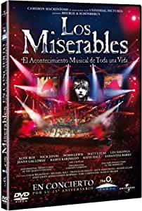 Los miserables: El musical [DVD]: Amazon.es: Alfie Boe