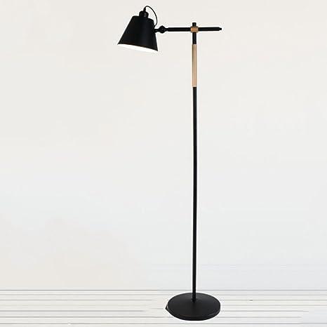 E27 - Lámpara de pie IP20 - Lámpara de pie Modern techo Hierro ...