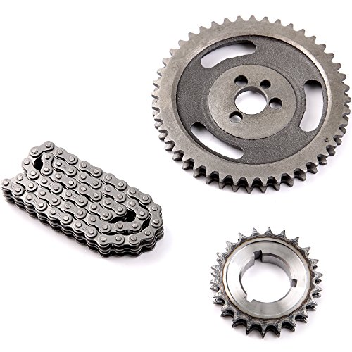 OCPTY Timing Chain Kit cam sprocket fits for Chevy 350 400 327 305 283 383 262 265 sbc sb C-3023X