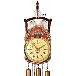 German Antique replica clock 8-day-movement 19.30 inch - Authentic black forest cuckoo clock by Rombach & Haas