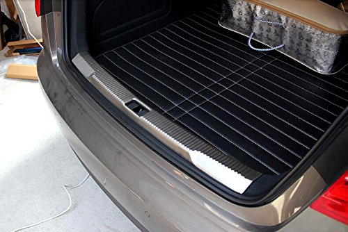 Rear Boot Guards - Star-Trade-Inc - Car Rear Trunk Inner Rear Bumper Boot Sill Guard Protector Plate For Audi A6 C7 2012 2013 2014 2015 Car styling