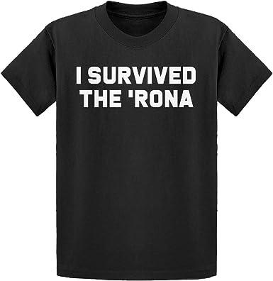Indica Plateau I Survived The Rona Unisex Kids Sweatshirt