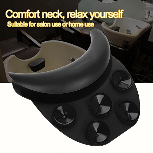 Silicone Shampoo Neck Head Rest Cushion, Durable Soft Hairdressing Backwash Bowl Gripper Hair Washing Sink by Semme (Image #5)
