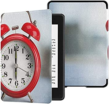 Kindle Paperwhite Estuche para Hombres Reloj Despertador Retro Antiguo Estuche Kindle Paperwhite Estuche con Despertador automático/Estuches para Dormir Kindle Paperwhite Décima generación Décima: Amazon.es: Electrónica