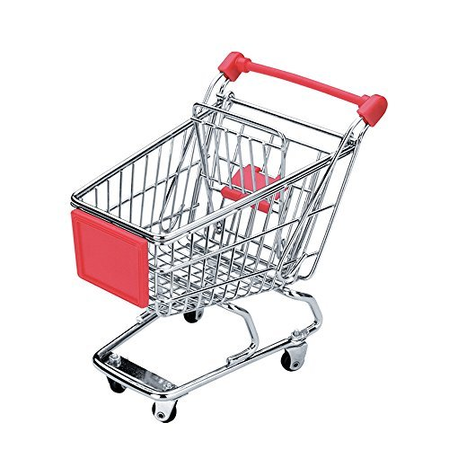 Novelty Mini Shopping Cart - coolthings.us