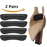 Upgrade Heel Cushions inserts Pads for Women Men Loose Shoes, High Heel Grips Liner Shoes too Big Self Adhesive Shoe Insoles Foot Heel Care Protector (2 Pairs)