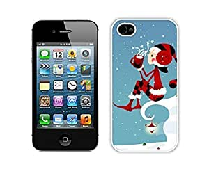 Fashion Style For Ipod Touch 4 Case Cover Protective Skin Case Merry Christmas White For Ipod Touch 4 Case Cover Case 34