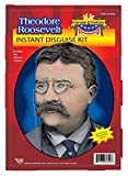 Child Heroes in History Instant Disguise Kit - Theodore Roosevelt - Wig, Moustache, and Glasses