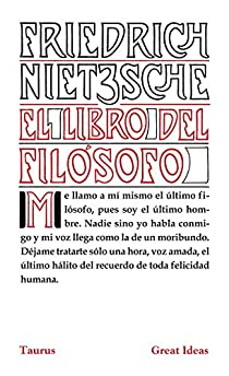 El libro del filósofo par Nietzsche