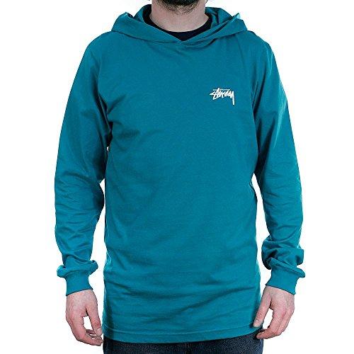 Stussy Herren T-Shirt grün blaugrün Einheitsgröße