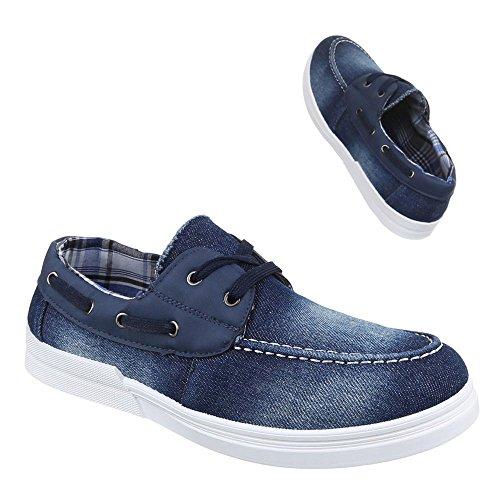 Ital-Design Men's Shoes Blue - BLUE RN72G