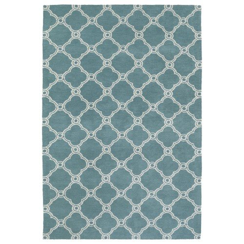 Kaleen Cozy Toes Turquoise 8 Ft X 10 Ft Area Rug Ctc10: Amazon.com: Kaleen Rugs Cozy Toes Collection CTC10-78