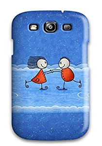 NkWFFiP3767AedpE Case Cover Protector For Galaxy S3 Humor Cartoon Case