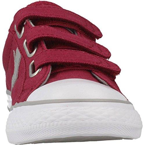 Basket, couleur Rouge , marque CONVERSE, modèle Basket CONVERSE CHUCK TAYLOR STAR PLAYER 3V OX Rouge