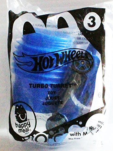 McDonad's Happy Meal Toy Hot Wheels #3 Turbo Turret from (Iii Turret)