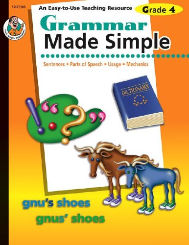 Grammar Made Simple, Grade 4 PDF