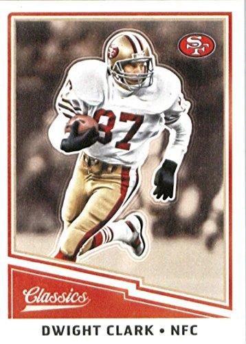 Dwight Clark Football - 2017 Panini Classics #163 Dwight Clark San Francisco 49ers Football Card